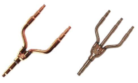 Acessórios tubo cobre