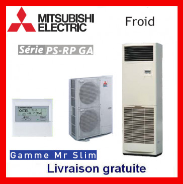 Armoire verticale Seulement FROID Mitsubishi - Mr Slim - PS-RP140GA