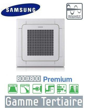 4-way em cassete 800 x 800 mm + RC125PHXGA NS1254PXEA premium Samsung 380V