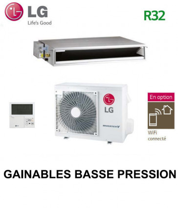 LG GAINABLE Basse pression statique CL18R.N20 - UU18WR.U20