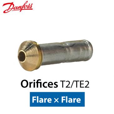 "Orifício Danfoss ""T2 - TE2"" nº 02 Code 068-2015"