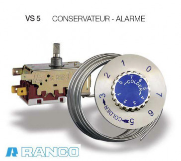 Termostato Ranco VS5 Tipo