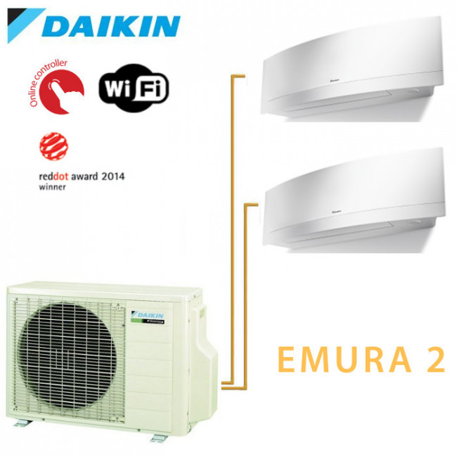 daikin bisplit inverter reversible 3mxs68g 1 ftxsg25lw 1 ftxsg35lw. Black Bedroom Furniture Sets. Home Design Ideas