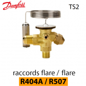 Détendeur thermostatique TS 2 - 068Z3400 - R404A, R449A, R407A, R452A/R507 Danfoss