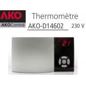 Termômetro parede AKO-14602 com uma sonda NTC
