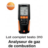 Testo 310 - Analyseur de combustion - Lot complet