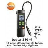 Detector de vazamento de refrigerante Testo 316-4