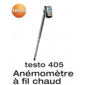 Testo 405 - Thermo-anémomètre en format de poche