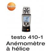 Anemômetro Vane em brochura com medição de temperatura Testo 410-1