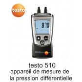 Testo 510 - Aparelhos de medição de pressão diferencial