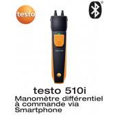 Testo 510 i - manomètre différentiel avec commande Smartphone