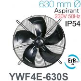 Ventilateur axial YWF4E-630S