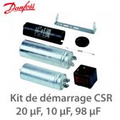 Kit de démarrage CSR monophasé 7701022 Danfoss