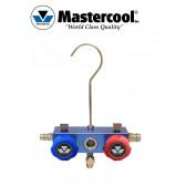 Corps de manifold 2 vannes à piston Mastercool