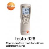 Sonda termômetro para alimentar um canal para TC - TESTO 926