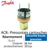 Pressostat Cartouche ACB-2UB509W - 061F7509 Danfoss
