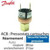 Pressostat Cartouche ACB-2UB514W - 061F7514 Danfoss