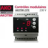 Controladores eletrônicos AKOTIM-23TE / 1, com 2 sondas
