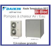 Pompes à chaleur DAIKIN ALTHERMA Bi-bloc Haute Température ERSQ011AY1 - Tri