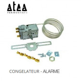 "Kit  Termostato Universal ""Atea"" W6 - congelador com alarme  - 2000 mm"