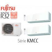 Fujitsu Bi-Split Mural AOY40MI-KB + 2 ASY20MI-KMCC