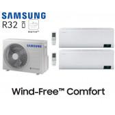 Samsung Wind-Free Comfort Bi-Split AJ040TXJ2KG + 2 AR07TXFCAWKN