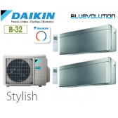 Daikin Stylish Bisplit 2MXM40N + 2 FTXA20BS - R32