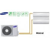 Samsung MISTRAL Bi-Split AJ040FCJ2EH + 2 AR07FSFPDGMN