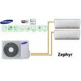 Samsung ZEPHYR Bi-Split AJ050FCJ2EH + 2 AR09FSSYAWTN
