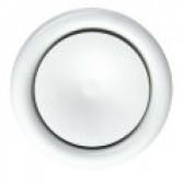Valvula de insulflação em aço branco