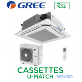 GREE Cassete U-MATCH 900x900 UM CST 48 R32