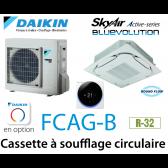 Daikin Cassette 8 voies «Round Flow» Active FCAG71B monophasé