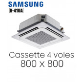Samsung Cassette 4 voies 800 x 800 mm AC052MN4DKH en 220V