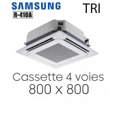 Samsung Cassette 4 voies 800 x 800 mm AC100MN4DKH en 380V