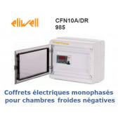 Coffret électrique pour ch. froides négatives monophasées CFN 10A/DR 985 PTC de Eliwell