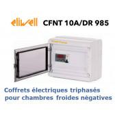 Coffret électrique pour ch. froides négatives triphasées CFNT 10A/DR 985 PTC de Eliwell
