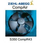 Ventilateurs Hélices gamme CompAir - S0350 CompR43 - Ziehl-Abegg