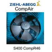 Ventilateurs Hélices gamme CompAir - S0400 CompR46 - Ziehl-Abegg