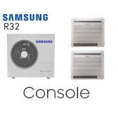 Samsung Console au sol Bi-Split AJ068RCJ3EG+ 2 AJ035RBJDEG - R32