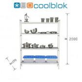 Ensemble Rayonnage Modulaire Coolblok - 370 mm X 2000 mm hauteur