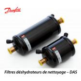 Filtres déshydrateurs de nettoyage pour conduite d'aspiration DAS de Danfoss