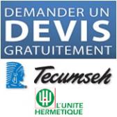 """Compressores herméticos """"L'unité Hérmetique"""""""