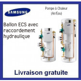 Ballon ECS avec raccordement hydraulique NH300CHXEA