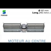 """Ventilateur double Tangentiel TGD 60/1-240/30 de """"Fergas"""""""
