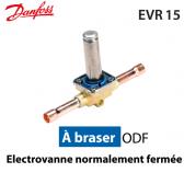 Vanne solénoïde sans bobine EVR 15 - 032F1225 - Danfoss