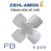 Ventilateur hélicoïde série FB - modèle FB045-4DK.4F.V4S de Ziehl-Abegg