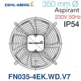Ventilateur hélicoïde FN035-4EK.WD.V7 de Ziehl-Abegg