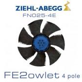 Ventilateur hélicoïde série FE2owlet - FN - Diamètre 250 - Ziehl-Abegg