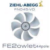Ventilateur hélicoïde série FE2owlet - FN - Diamètre 450 - Ziehl-Abegg