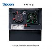 Horloge de dégivrage analogique FRI 77 g de Theben